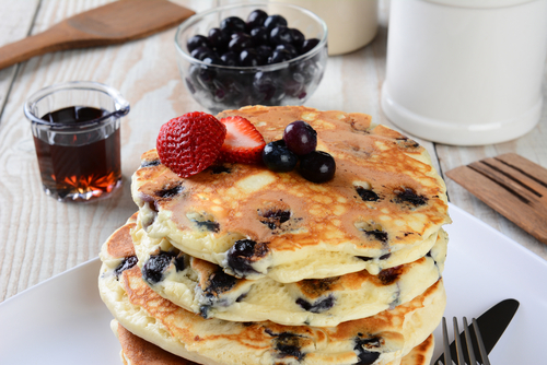 True Blue-riffic Pancakes