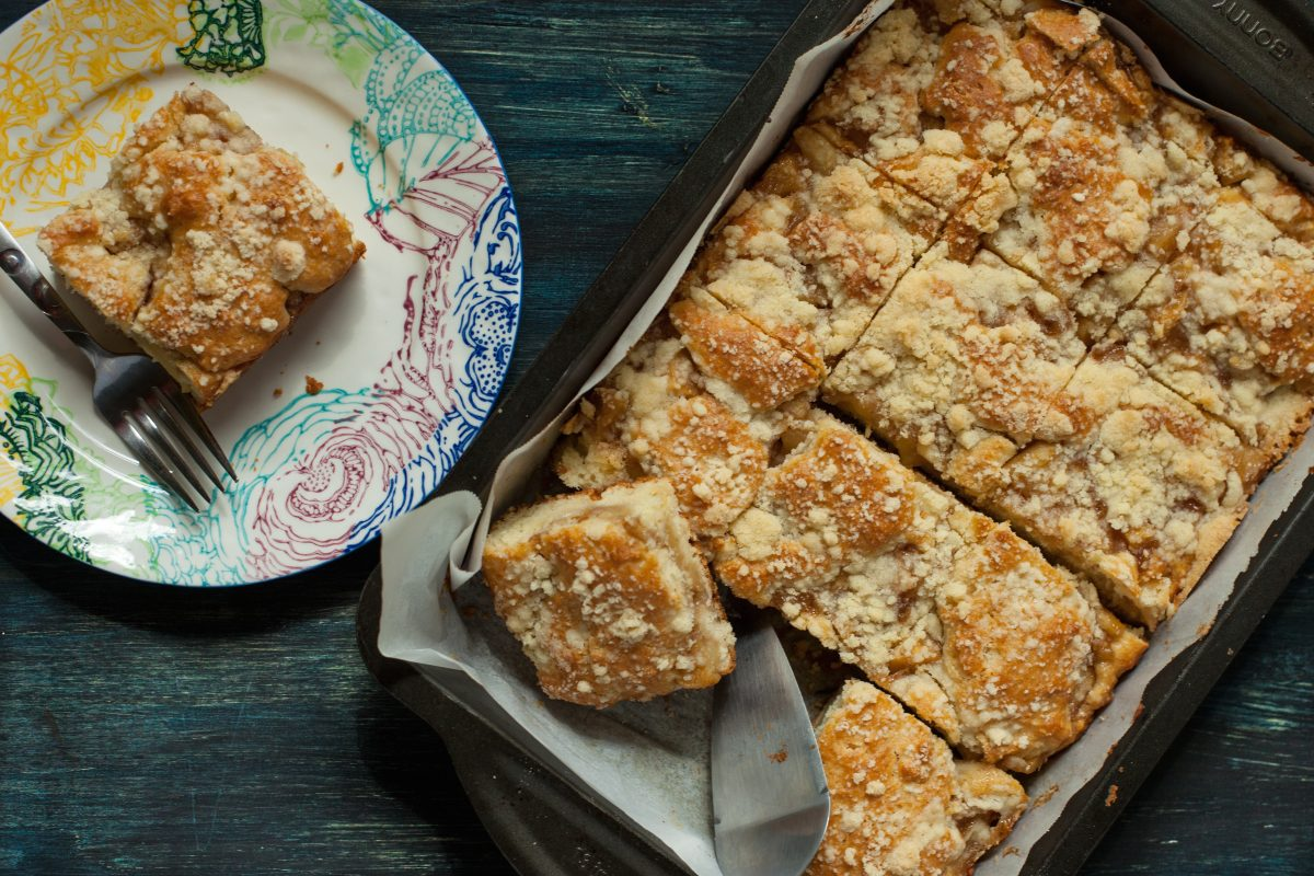Carrot Streusel Coffee Cake