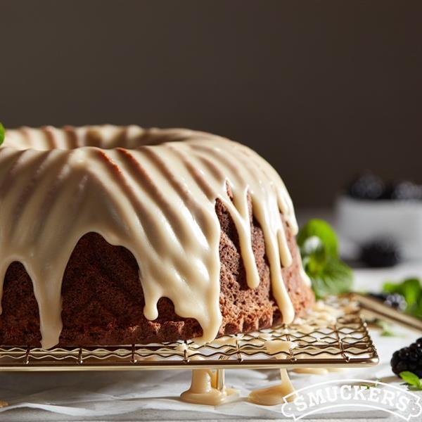 Southern Jam Cake with Caramel Icing