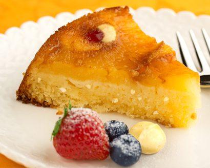 Pineapple Nut Upside Down Cake