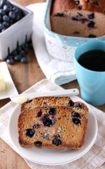 Blueberry English Muffin Bread