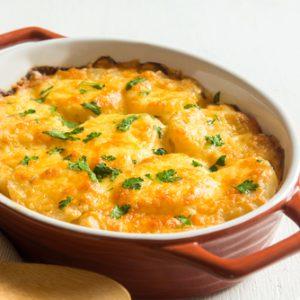 Creamy Potatoes Au Gratin