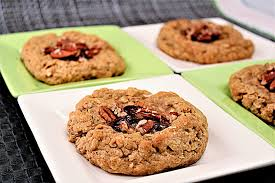 7-Grain & Oatmeal Jam Breakfast Thumbprint Cookies