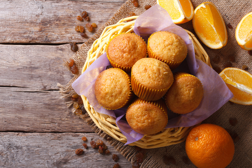 Orange-Raisin Muffins