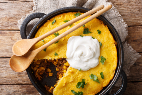 South of the Border Tamale Pie