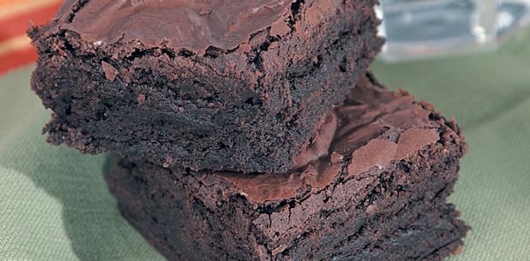 On-the-Fence Brownies