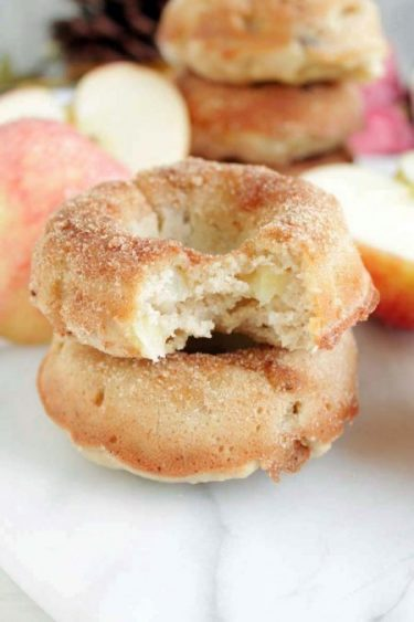 Gluten-Free Apple Walnut Baked Doughnuts
