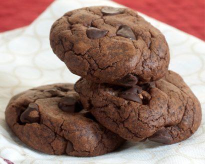 Bittersweet Chocolate Mocha Cookies