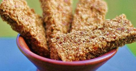Coconut Almond Granola Bars