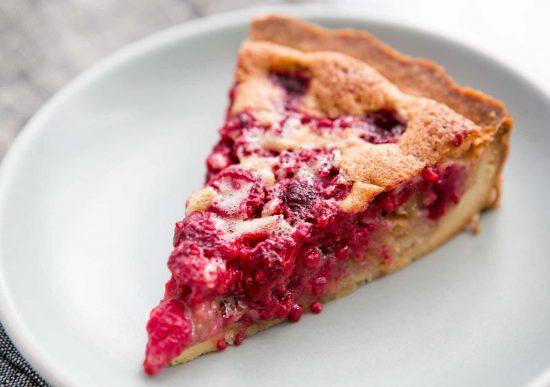 Raspberry Pecan Torte