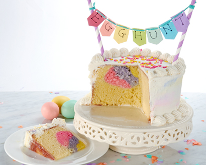 Easter Egg Hunt Cake