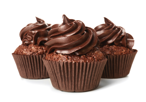 Double Chocolate Cupcakes with Chocolate Buttercream Frosting