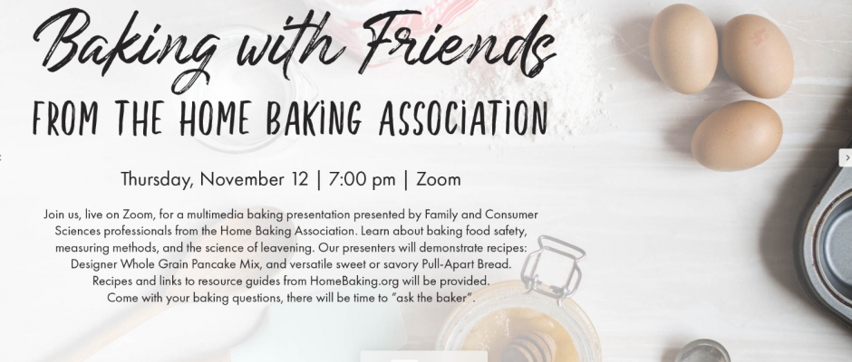 Baking With Friends Presentation