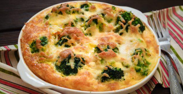Broccoli Cheese Strata