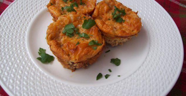 Chili Cheese Mini Frittatas
