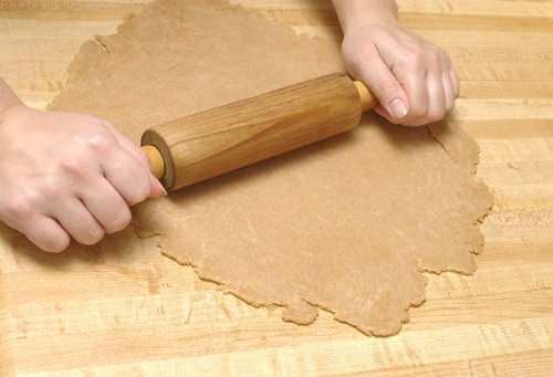 Whole Wheat Pastry for Double-Crust Pie